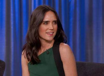 News video: 'Jimmy Kimmel Live!': Jennifer Connelly's Kids Like Iron Man More Than Their Dad